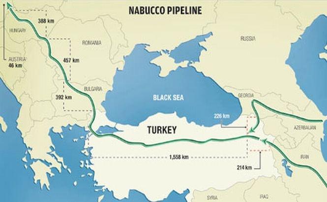Proiectul Nabucco revine în actualitate. Iranul vrea să fie alternativa europenilor pentru gazul rusesc