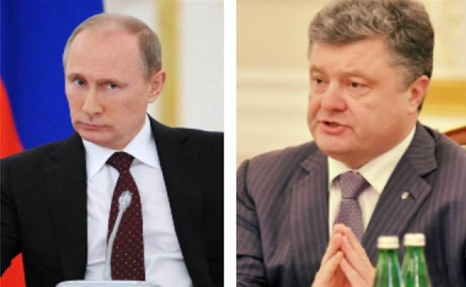 Putin se va întâlni cu Poroşenko la Minsk