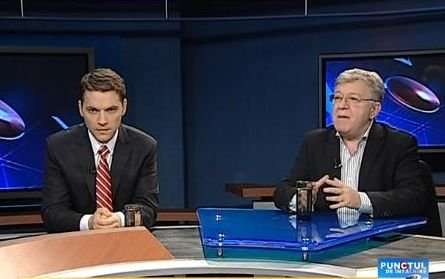 Punctul de Întâlnire: Dan Şova şi Corneliu Dobriţoiu, despre procentele candidaţilor în cursa prezidenţială