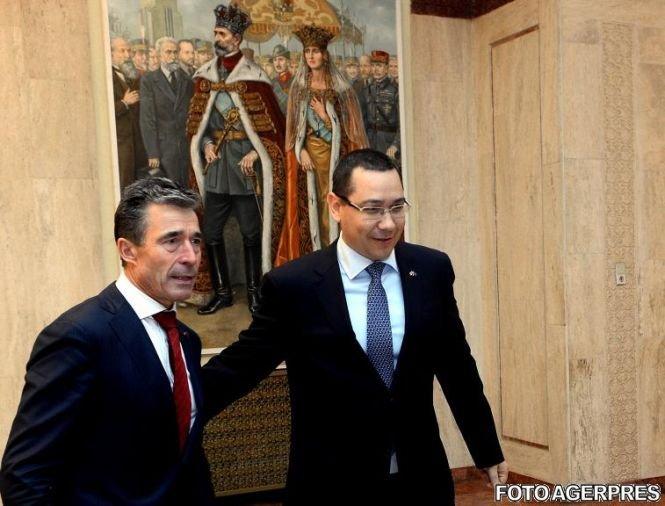 Ponta: Deschiderea unei baze militare permanente a NATO în România, unul dintre obiectivele fundamentale ale ţării noastre