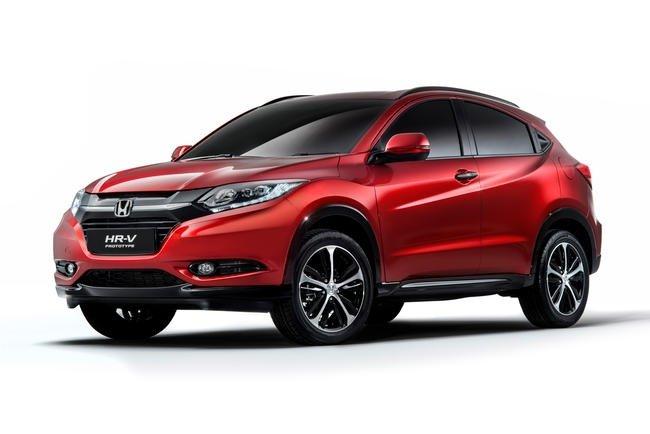 Honda a făcut publice primele imagini ale prototipului HR-V