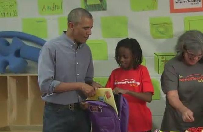 Sinceritate dezarmantă de copil. Ce i-a spus o fetiţă preşedintelui SUA