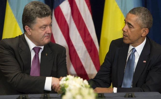 """Plecat cu jalba-n proţap la Washington, Poroşenko a venit cu mai puţin decât se aştepta. SUA vor acorda doar """"sprijin neletal"""" Ucrainei"""
