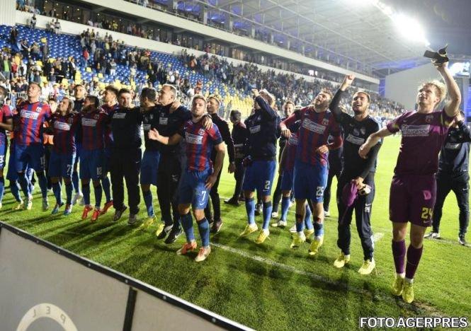 Steaua rămâne pe primul loc în Liga I, după 3-2 cu Petrolul