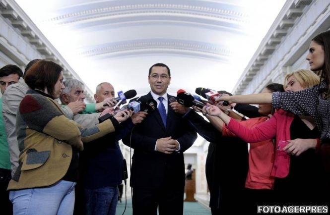 Ponta despre ancheta DNA privind foştii miniştri: Procedurile în Parlament se vor desfăşura absolut normal