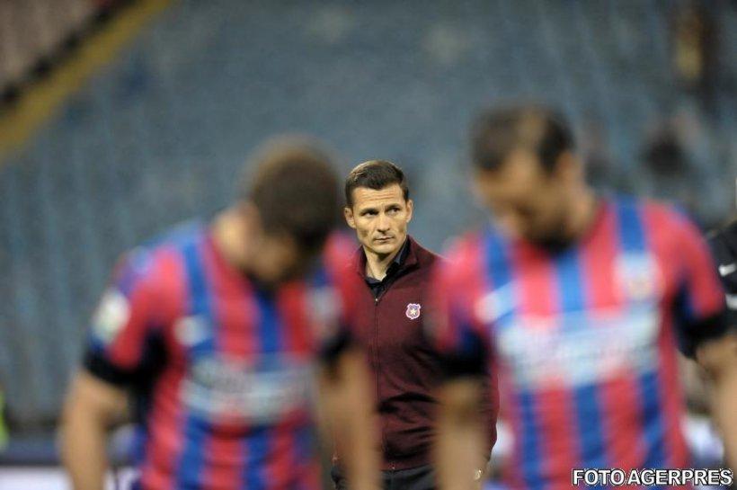 Steaua a pierdut al doilea meci din grupele Europa League, 1-3 cu Dinamo Kiev