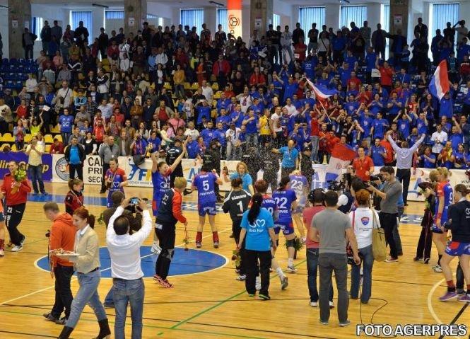 HCM Baia Mare a debutat cu o victorie în grupa D a Ligii Campionilor la handbal feminin