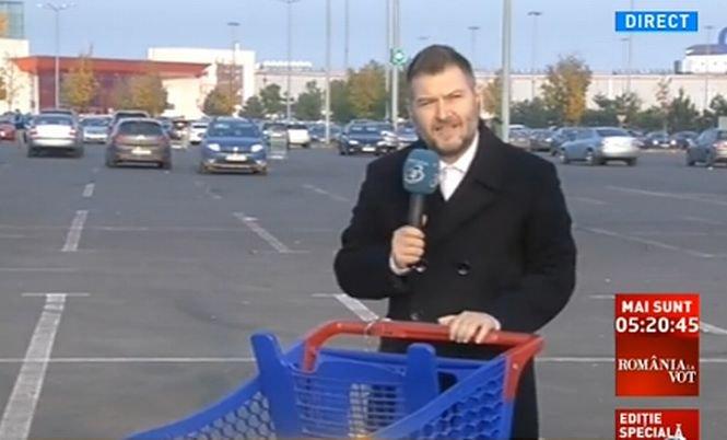 Traian Băsescu, absent la cumpărături. Felix Rache a dus tradiţia mai departe