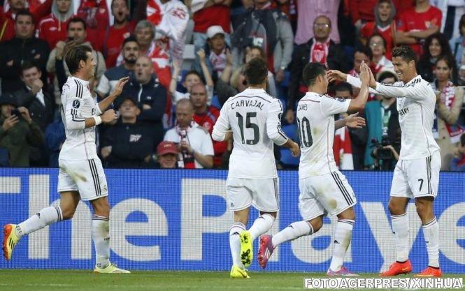 Real Madrid şi Borussia Dortmund, primele echipe calificate în optimile de finală ale Ligii Campionilor