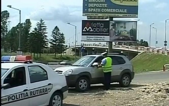Şofer teribilist, amendat pe autostrada Transilvania. Gonea cu 205 km/h