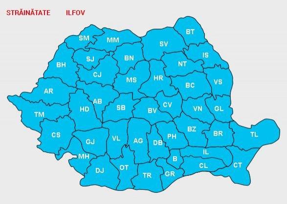 HARTA ELECTORALĂ - REZULTATELE FINALE LA ALEGERILE PREZIDENŢIALE 2014