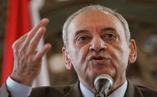 Cum îşi testează preşedintele parlamentului libanez gărzile de corp (VIDEO)