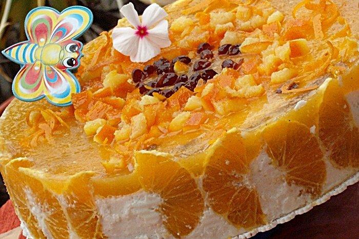 Reteta pentru Revelion: Tort cu portocale