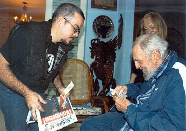 Fidel Castro nu a murit. Fostul lider cubanez, în cele mai noi imagini publicate pe internet