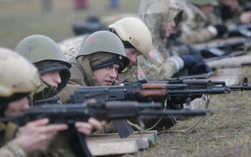 SUA antrenează armata ucraineană: Am început cu patru batalioane din Garda Naţională