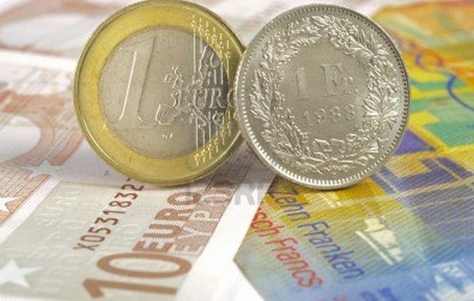 Cursul francului elveţian a înregistrat o nouă scădere