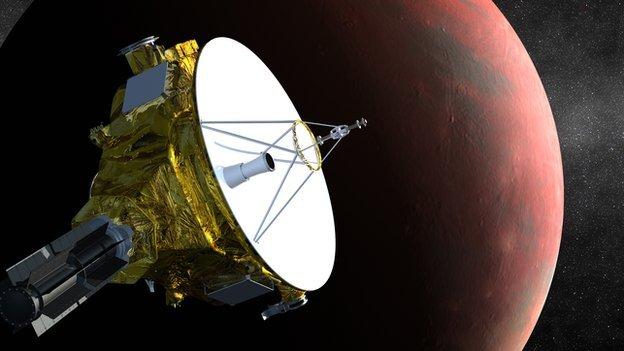 Prima imagine cu planeta Pluto, realizată de sonda New Horizons, a fost publicată de NASA
