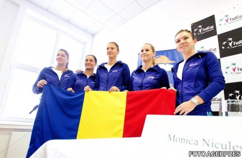 Fed Cup: România - Spania 1-1. Simona Halep a câştigat prima partidă, însă Begu a cedat în meciul cu Muguruza