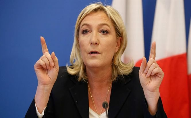 Marine Le Pen acuză administraţia de la Washington că încearcă să pornească un război în Europa