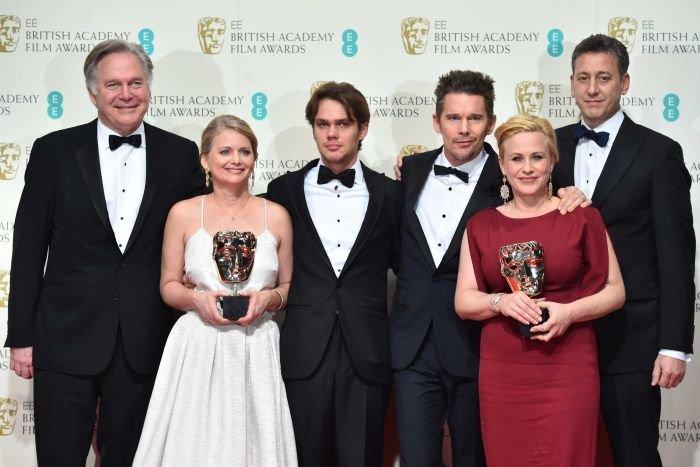 Seară de gală în lumea filmului. Decernarea premiilor BAFTA a adus surprize pe scenă: Boyhood, marele câştigător