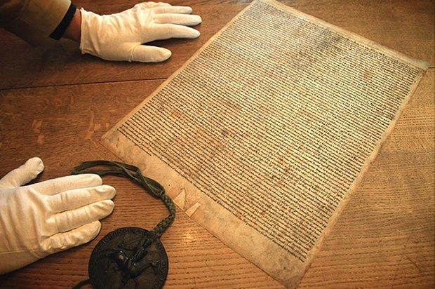 Un exemplar din Magna Carta, descoperit în Marea Britanie, a fost evaluat la 13,4 milioane de euro