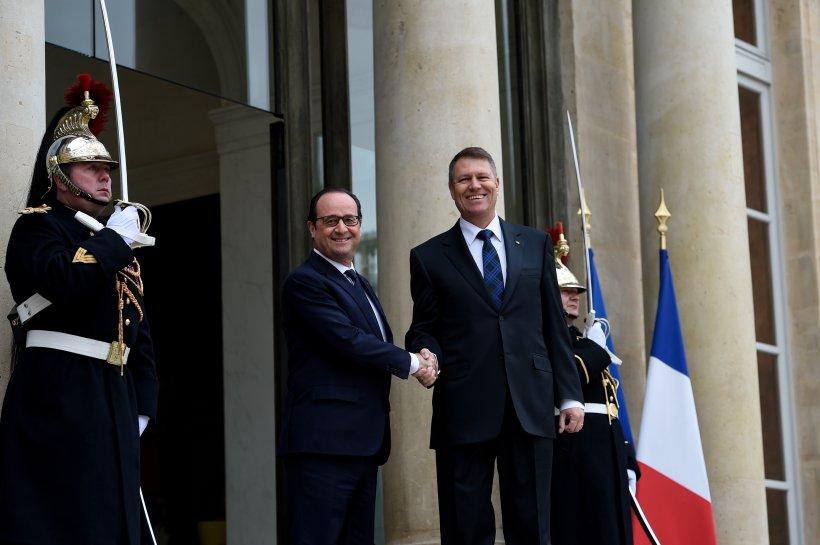 Iohannis faţă în faţă cu preşedintele francez pe tema Schengen. Ce a obţinut
