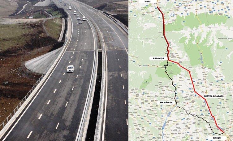 Încă 6,5 MILIOANE de euro pentru autostrada INVIZIBILĂ Sibiu-Piteşti. Ce anunţ a făcut azi CNADNR