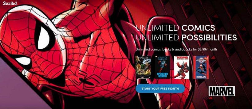 Scribd oferă acum şi acces la comic books