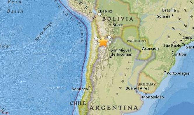 Un cutremur puternic a avut loc în Argentina