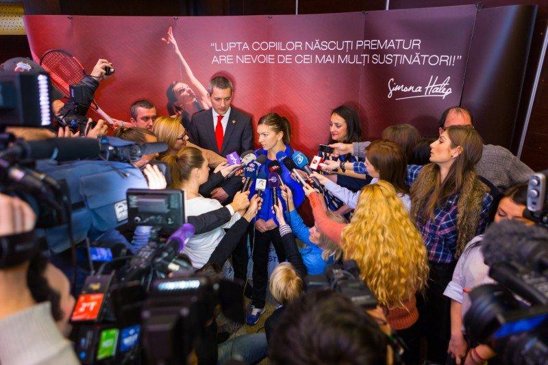 """Simona Halep, noua imagine a campaniei """"Grijă pentru copii"""""""