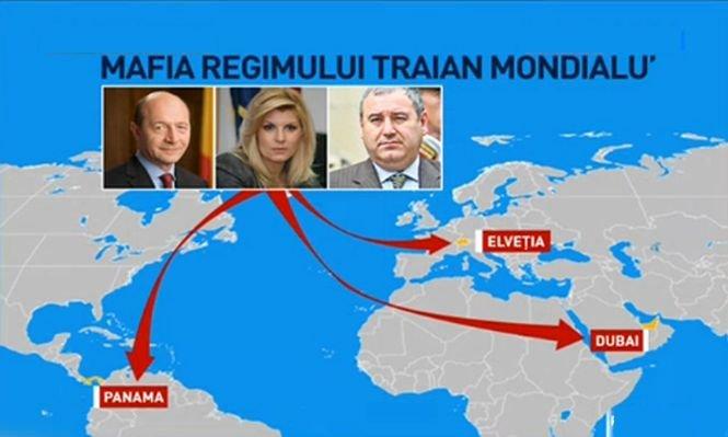 Panama, Dubai şi Elveţia se află pe harta regimului Traian Mondialu`