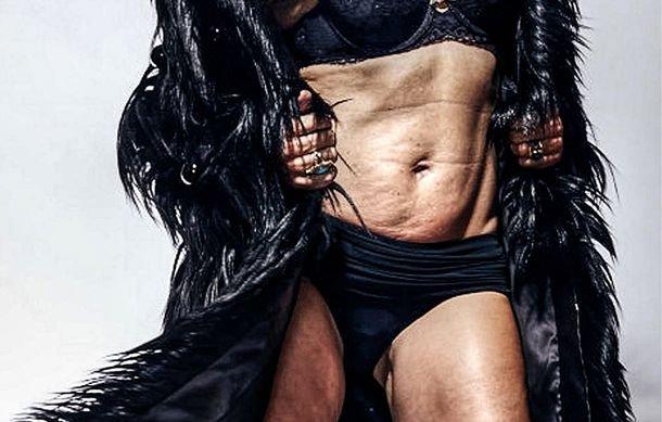 """Aşa arată una din cele mai frumoase femei FĂRĂ Photoshop: """"Este o lovitură de imagine"""""""