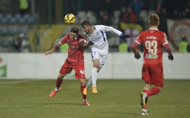 Pandurii - Dinamo, scor 2 - 1, în prima manşă a semifinalelor Cupei Ligii