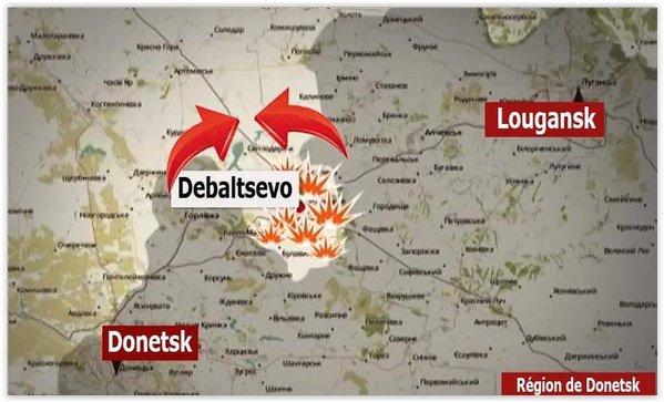 Cel puţin 22 de militari ucraineni, ucişi în confruntări cu insurgenţii în Debalţeve