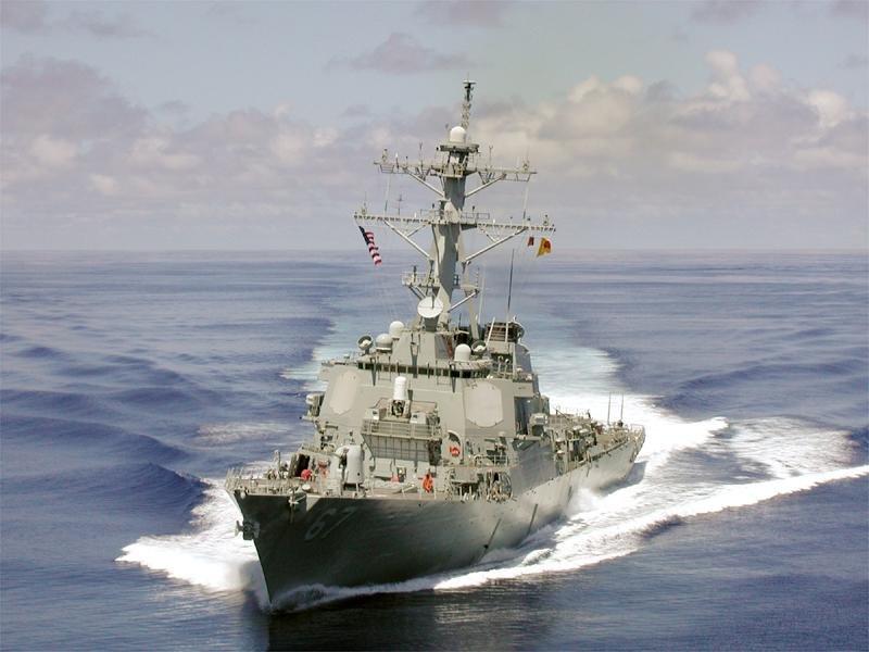 Forțe navale române și distrugătorul USS Cole au participat la un exercițiu comun în Marea Neagră