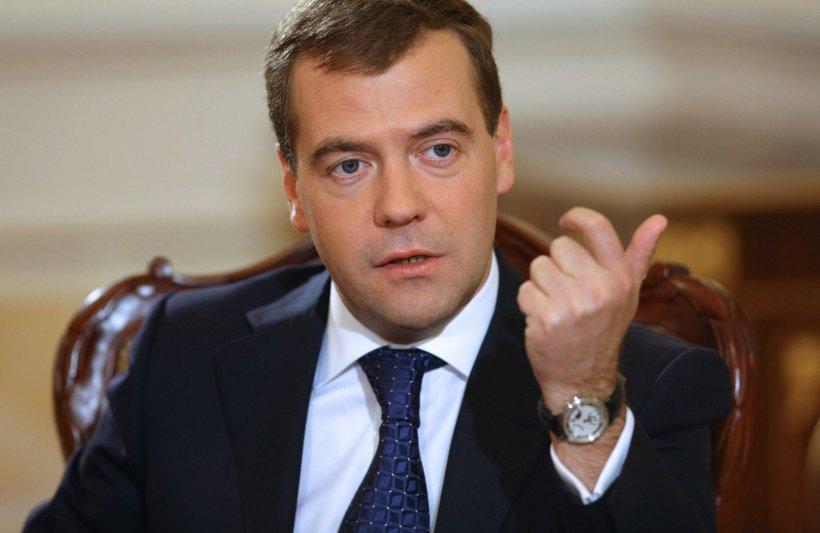 Medvedev: Ucraina ''trebuie să plătească'' pentru gazul livrat regiunilor rebele