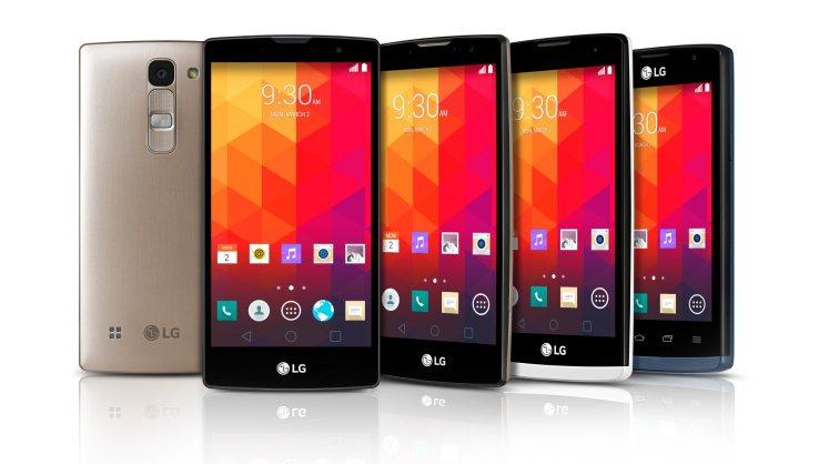 Patru noi smartphones de la LG