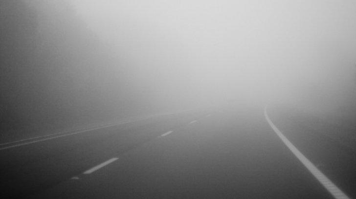 Cod galben de ceaţă pentru judeţele Constanța, Tulcea şi Harghita şi pentru Autostrada A2