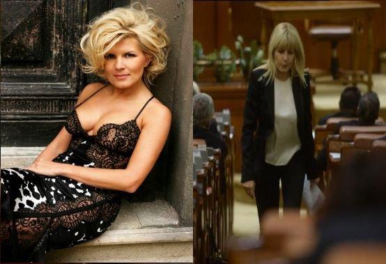 MOTIVUL pentru care Elena Udrea se îmbracă doar în ALB şi NEGRU. Cine o sfătuieşte să îşi schimbe stilul