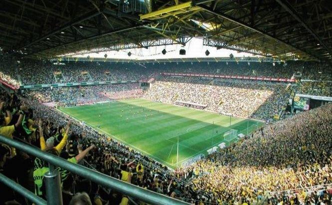 Alarmă REALĂ cu BOMBĂ la stadionul Borussiei Dortmund. Pirotehniştii au dezamorsat un proiectil din al doilea Război Mondial