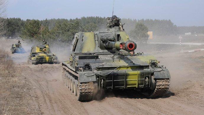 Kievul anunţă începerea retragerii armelor grele din estul separatist