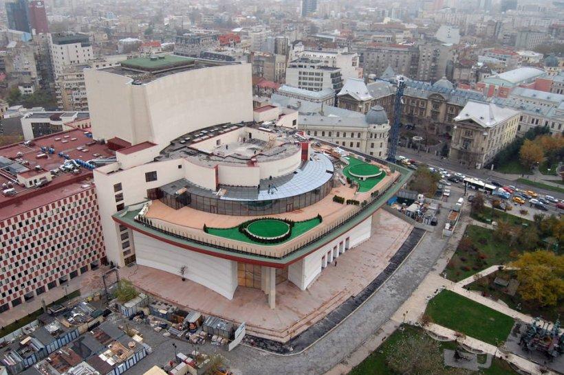 Parcarea subterană de la Teatrul Naţional, inaugurată la 2 ani după renovare