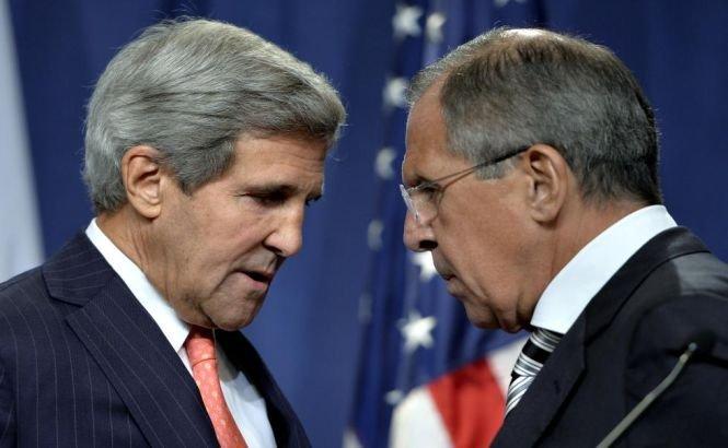 Lavrov şi Kerry se întâlnesc luni la Geneva