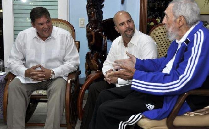 Fidel Castro s-a întânit cu cei cinci spioni cubanezi eliberaţi de SUA