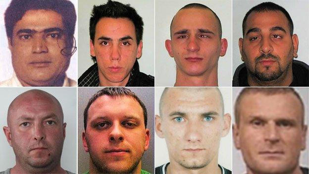 Poliţia londoneză lansează un apel pentru găsirea a 17 infractori străini, între care şi români