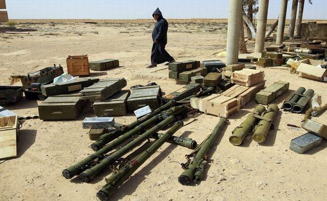 Tunisia a capturat o cantitate mare de arme la graniţa cu Libia