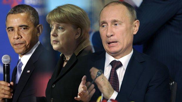 """Ce SALARIU are Vladimir Putin. """"Şi-a TRIPLAT leafa"""". Câţi bani câştigă Obama şi Merkel"""