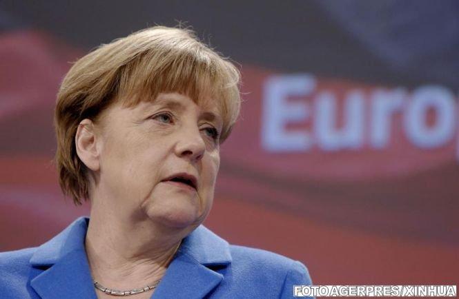 Merkel: Perspectivele de creştere ale economiei europene s-au îmbunătăţit
