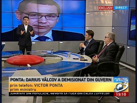 Darius Vâlcov resigned from the Government 114