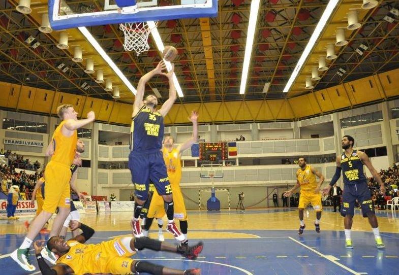 Baschet masculin: Energia Tg. Jiu s-a calificat în turneul Final Four al FIBA EuroChallenge